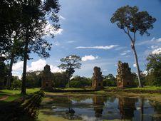 Free Angkor Archaeological Park Stock Photo - 9085220