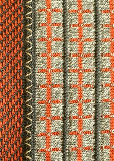 Free Part Of Knitted Wool, Color Ornament Royalty Free Stock Image - 9085246