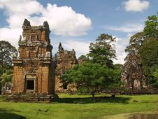 Free Angkor Archaeological Park Royalty Free Stock Photo - 9085255