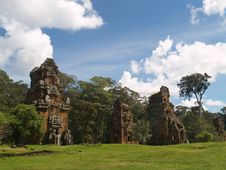 Free Angkor Archaeological Park Royalty Free Stock Images - 9085279