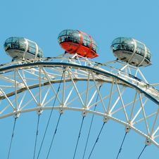 Free London Eye Royalty Free Stock Photo - 90995425