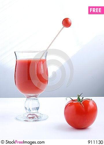Free Tomato Juice V Stock Photo - 911130