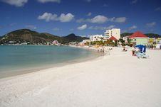 Free White Beach Royalty Free Stock Image - 910036