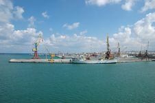 Free Heraklion Harbour Royalty Free Stock Image - 910806