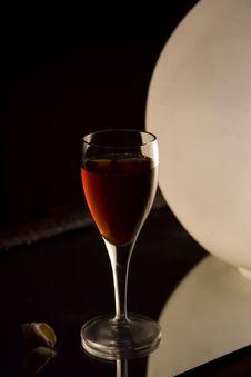 Free Small Liquor Glass Stock Photography - 911142