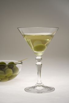 Martini Glasses IV Stock Photography