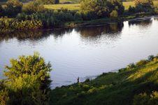 Free Fishing  During Sundown Stock Photo - 911320