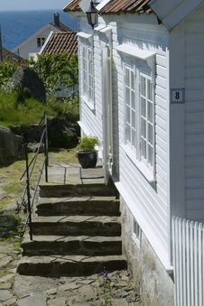 Free Village Houses In Norway Stock Photo - 912340