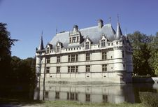 Azay Le Rideau Royalty Free Stock Photography