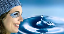Free Water Woman Stock Images - 913114
