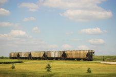 Free Rail Cars Resting Royalty Free Stock Photography - 913337