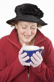 Free Holding A Hot Drink Cup 2 Stock Photos - 913893