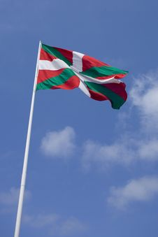 Free Basque Flag Royalty Free Stock Photo - 915865