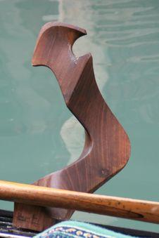 Free Forcola Of Gondola Stock Photo - 915960