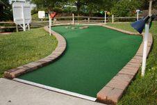 Free Miniature Golf Hole Stock Photos - 916233