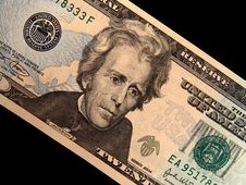 Free Jackson Close-up On Cash Royalty Free Stock Photo - 916675