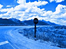 Free Teton Blues Royalty Free Stock Images - 916679