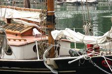 Free Sailboat Close-Up Royalty Free Stock Photography - 916707