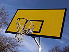 Free Basketball Hoop Royalty Free Stock Images - 917419