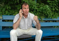 Free Phone Argument Royalty Free Stock Image - 918026