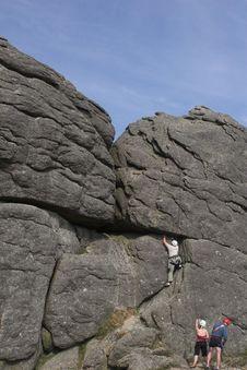 Free Rock Climbing 1 Stock Image - 918101