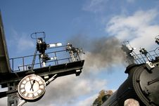 Train Time Stock Photo