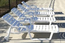 Free Pool Chairs Royalty Free Stock Photos - 919248
