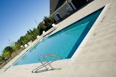 Free Pool Steps Stock Photography - 919262