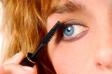 Eye Makeup Stock Images