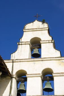 Free Mission Bell Tower Royalty Free Stock Images - 919819