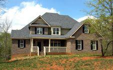 Free Elegant Suburban House Stock Image - 91053781