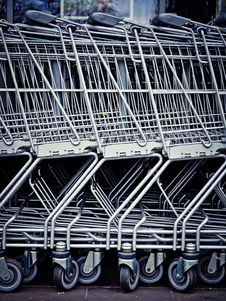 Free Shopping Carts Royalty Free Stock Photos - 91054188