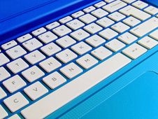 Free Laptop Computer Keyboard Royalty Free Stock Photo - 91054205