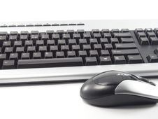 Free Keyboard And Mouse Stock Photography - 91107372
