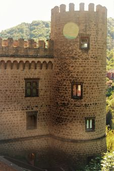 Free San Gregorio Da Sassola: Brancaccio Fortress Stock Image - 91200101
