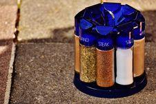 Free Seasonings In Rack Outside Royalty Free Stock Images - 91249509