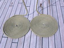 Free Coils Of Rope Royalty Free Stock Image - 91250006