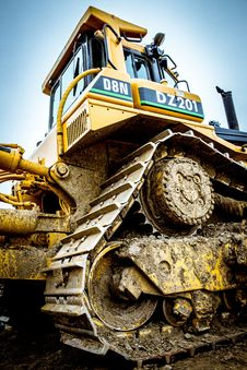 Free Bulldozer On Site Royalty Free Stock Images - 91250549