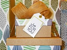 Free Present With Ribbon Royalty Free Stock Photo - 91250795