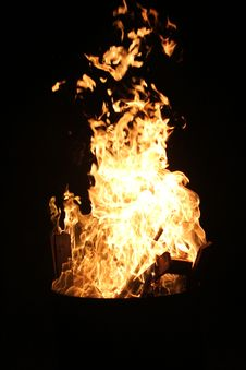 Free Bonfire Stock Image - 91250891