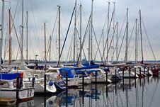 Free Sailboats In Marina Stock Image - 91251461