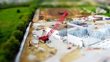 Free Model Of Construction Site Royalty Free Stock Photos - 91252958
