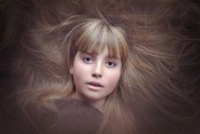 Free Hair, Face, Beauty, Human Hair Color Royalty Free Stock Photography - 91370587
