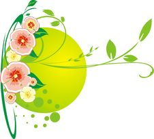 Free Decorative Bouquet Of Flowers Stock Image - 9152461