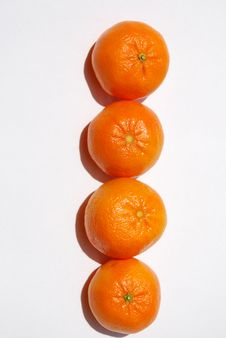 Free Juicy Tangerines Royalty Free Stock Photo - 9156885