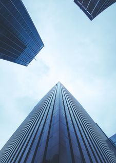 Free High Rise Office Buildings  Royalty Free Stock Images - 91519899