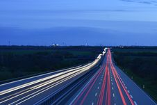Free Blur Of Traffic On Roadway Stock Photos - 91519973