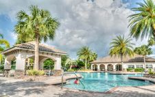Free Resort Swimming Pool Stock Images - 91629964