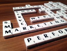 Free Scrabble With Business Terms Stock Photography - 91630462