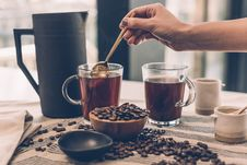 Free Brewing Coffee Royalty Free Stock Images - 91630599